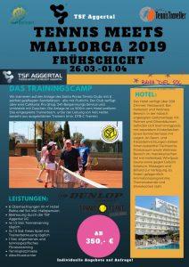 26.03 - 01.04. 2019 Oster-Camp Mallorca Santa Ponsa  2019 inkl. Lk-Turnier - Frühschicht!!! @ Mallorca Club Santa Ponsa/ Bahia del Sol | Santa Ponsa | Balearische Inseln | Spanien