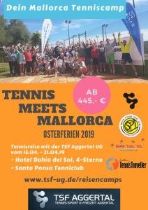 13. - 20. April - Das Oster-Camp auf Santa Ponsa in der 1. Osterferien-Woche 2019 @ Club de Tennis Santa Ponsa | Santa Ponsa | Balearische Inseln | Spanien